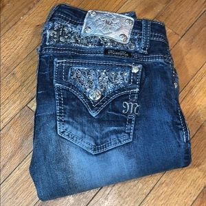 Size 14 miss me buckle jeans